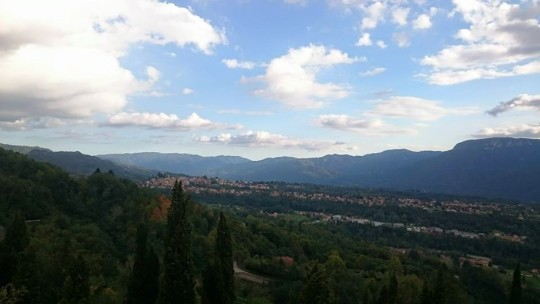 Hayes Leadership Experience - View of Barga